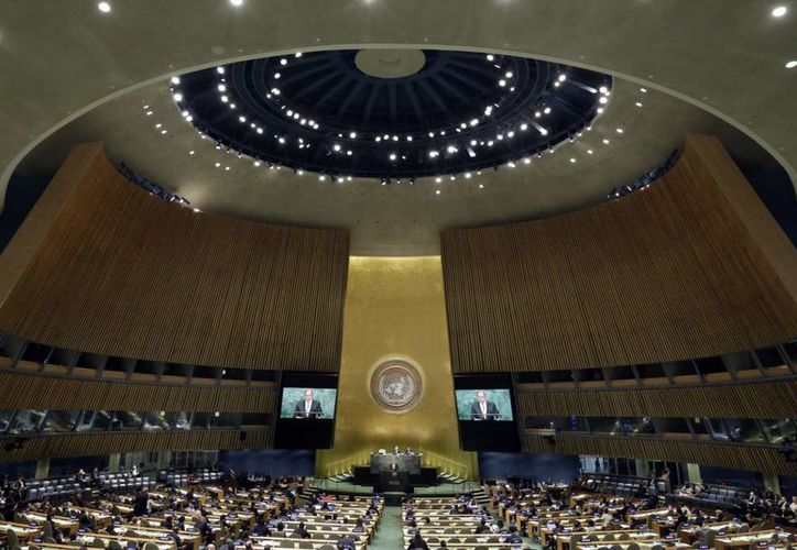 Las reuniones de las potencias mundiales por lograr la paz en Siria fracasaron incluso en la máxima cumbre de todas las naciones. (AP/Richard Drew)