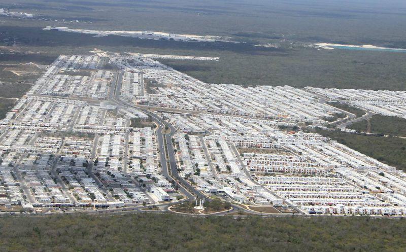 Aumenta construcci n de viviendas en nuevos for Construccion de piscinas merida yucatan