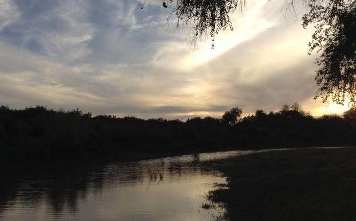 Vista del río Yaqui en la actualidad (Al-Dabi Olvera)