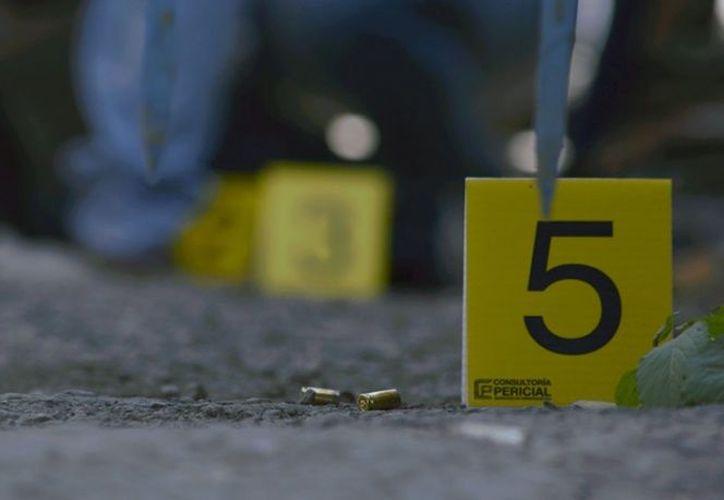 El elemento caído fue identificado como Luis Felipe Hernández. (Cuartoscuro)