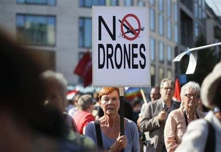 Los drones enfrentan un problema de imagen. (Agencias)