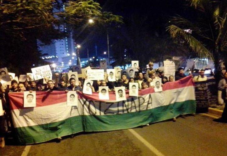 Representantes del movimiento han detectado infiltrados en las marchas. (Archivo/SIPSE)