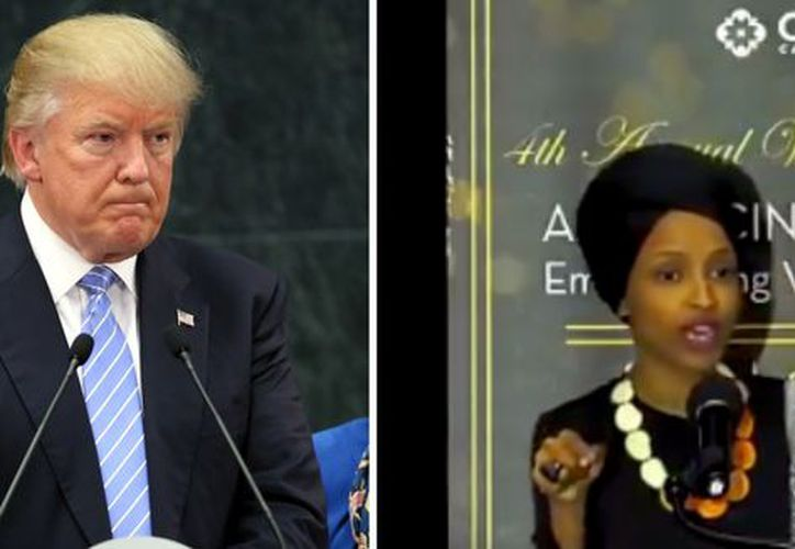 La demócrata Nancy Pelosi, criticó este sábado al presidente estadounidense Donald Trump por usar un video de los atentados del 11 de septiembre de 2001 (Foto: Captura de pantalla/Twitter)