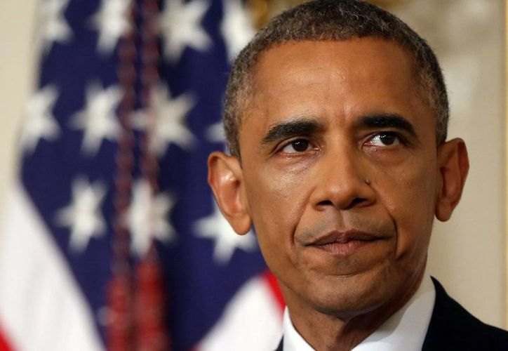 Obama dijo que el Pentágono actuará en caso de que la seguridad de sus ciudadanos se vea amenazada. (AP)