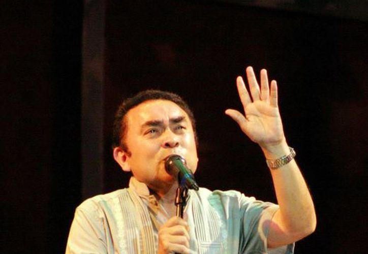 El coordinador del Taller de la Canción Yucateca, Felipe de la Cruz, anunció un concierto para celebrar ocho años de impulso a los compositores yucatecos. (Milenio Novedades)