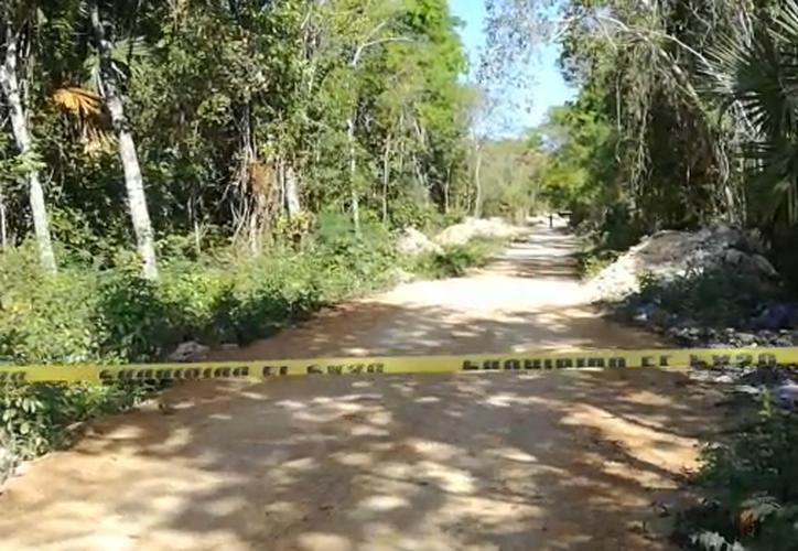 El hombre fue asesinado en una zona de invasión en Playa del Carmen. (Foto: Redacción)