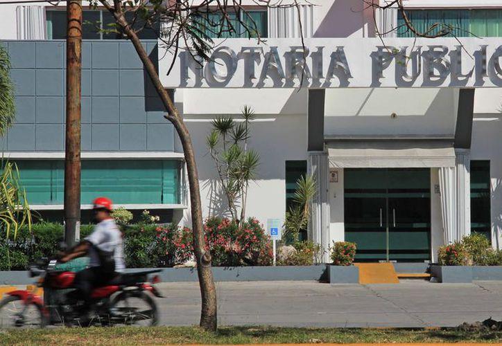 Por ello buscan transparencia en el manejo y funcionamiento de los notarios públicos en Quintana Roo. (Foto: Jesús Tijerina/SIPSE)