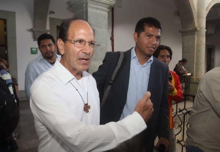 Alejandro Solalinde Guerra dijo que pasará de las protestas a las propuestas. (Archivo/Notimex)