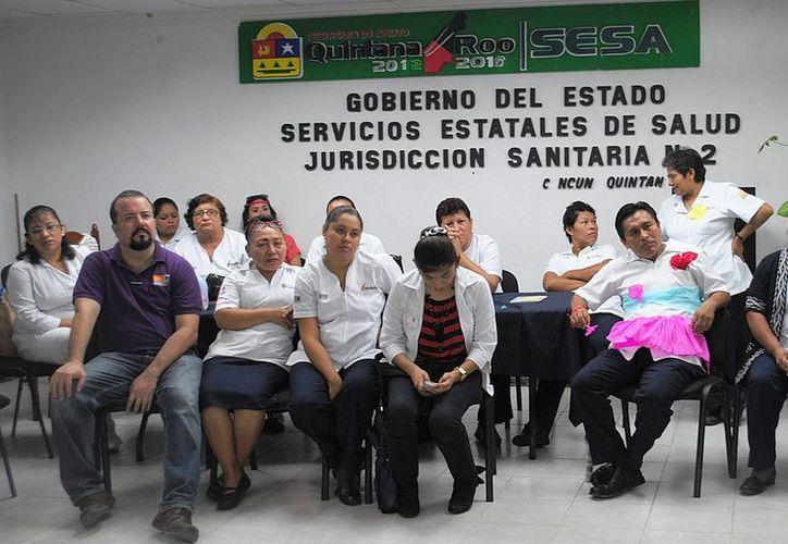 Participan 45 enfermeros de diversos Centros de Salud de Cancún. (Redacción/SIPSE)