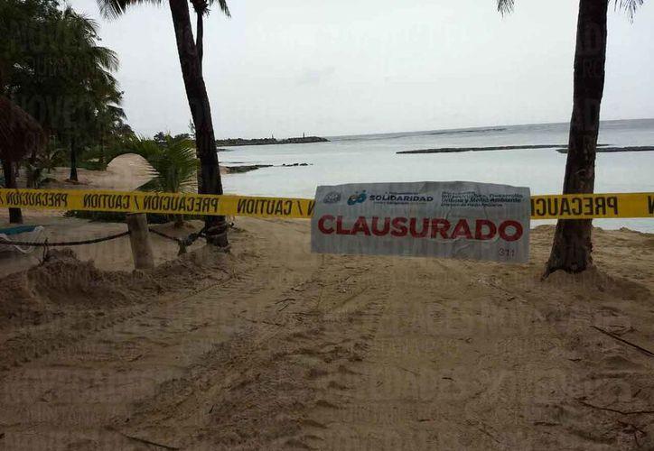 Las autoridades realizaron la clausura de los trabajos la tarde de ayer. (Daniel Pacheco/SIPSE)