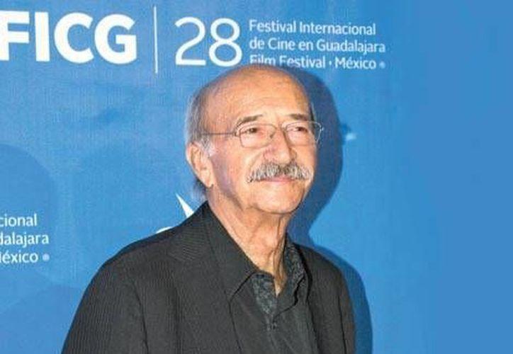 Felipe Cazals, cineasta. (Agencias)
