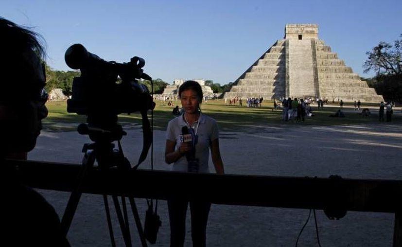 Ante la crisis europea, muchos turistas de ese continente desechan incluso acudir a zonas emblemáticas como Chichén Itzá. (Archivo Agencias)