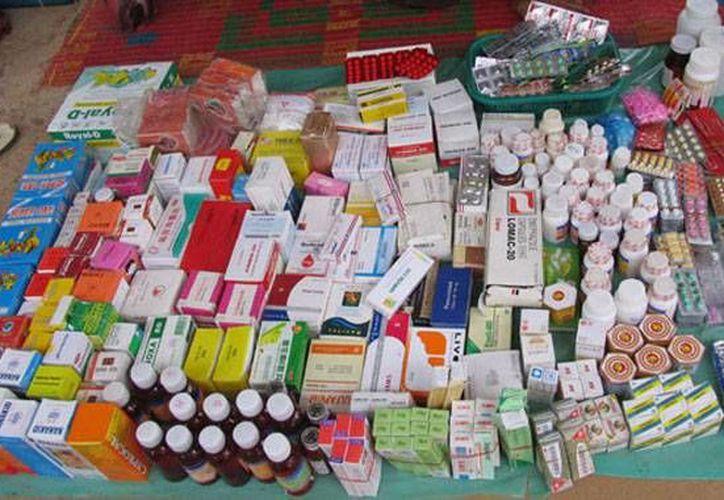 Profepa detectó un tráiler que contenía más de 186 cajas con medicamentos caducados que pretendía entrar a Yucatán. (Milenio Novedades)