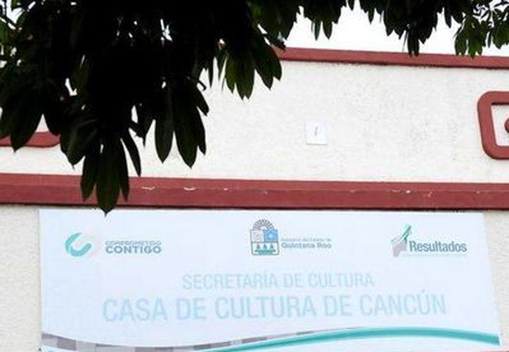 Los eventos se llevarán al cabo en la Casa de la Cultura de Cancún. (Redacción/SIPSE)