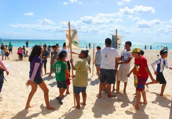 El programa 'De Vuelta al Mar' busca atraer a más participantes. (Daniel Pacheco/SIPSE)