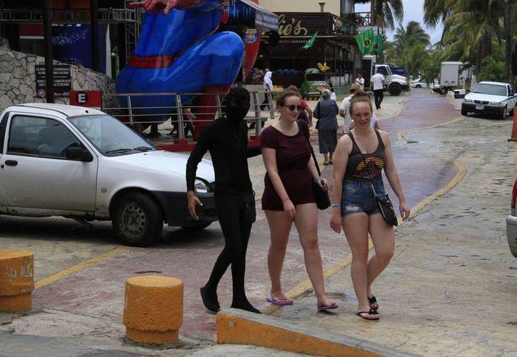 La estancia promedio de los turistas fue de cinco días. (Tomás Álvarez/SIPSE)