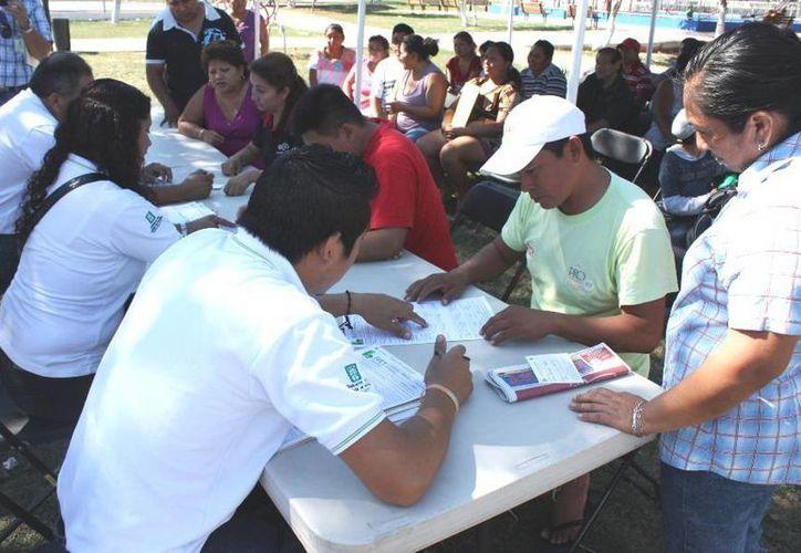 Es la segunda ocasión que el IVEY llega a esta zona de Mérida. (Cortesía)