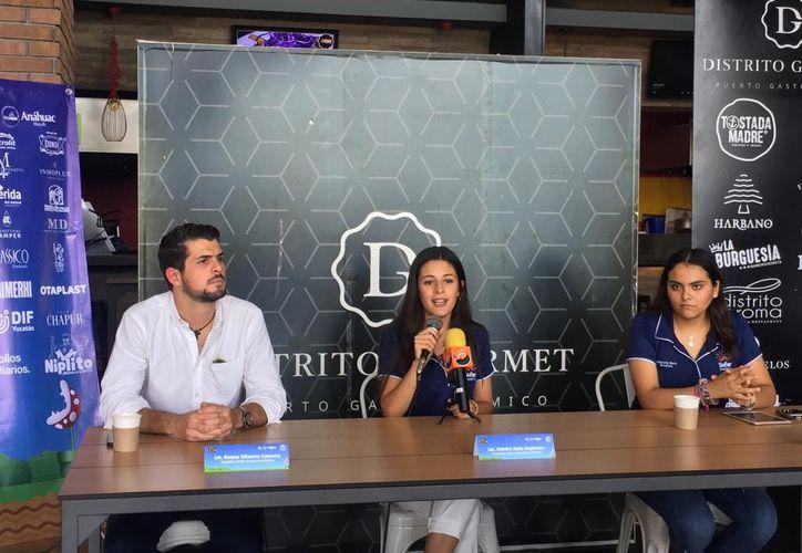 Jóvenes voluntarios participarán en el evento del fin de semana. (Foto:Jorge Acosta/Novedades Yucatán)