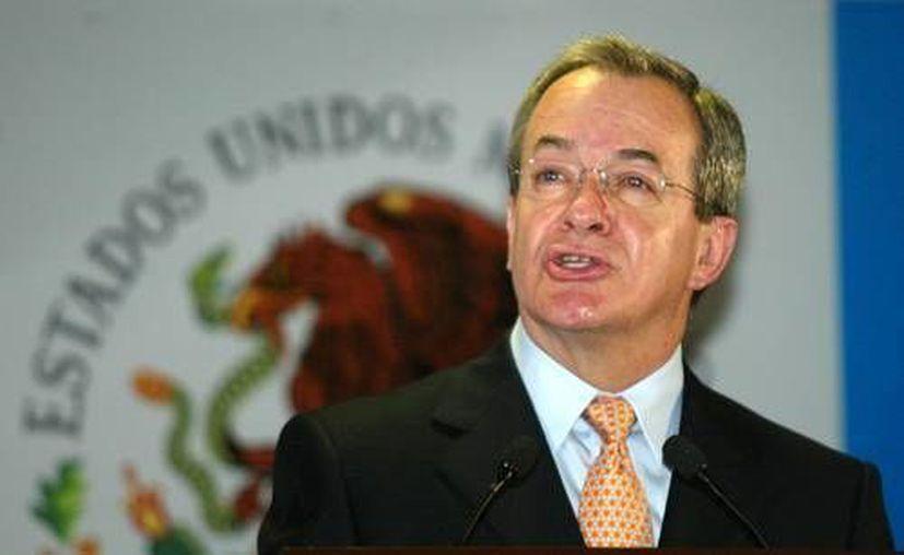 Monte Alejandro Rubido García, secretario ejecutivo del Sistema Nacional de Seguridad Pública. (Archivo/SIPSE)