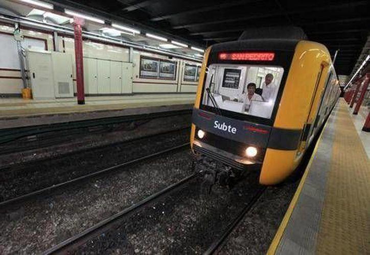 La línea A del Metro es la más antigua del sistema subterráneo de Buenos Aires. (ANSA Latina)