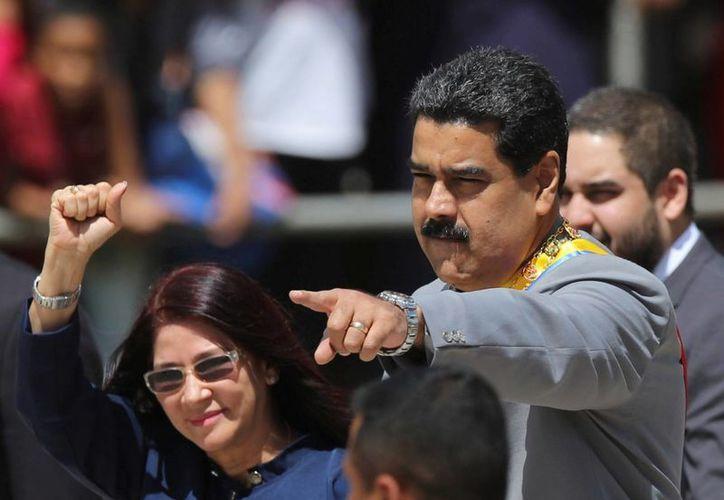 Maduro asegura, una vez más, que el gobierno de Estados Unidos conspira contra Venezuela. (AP/Fernando Llano)