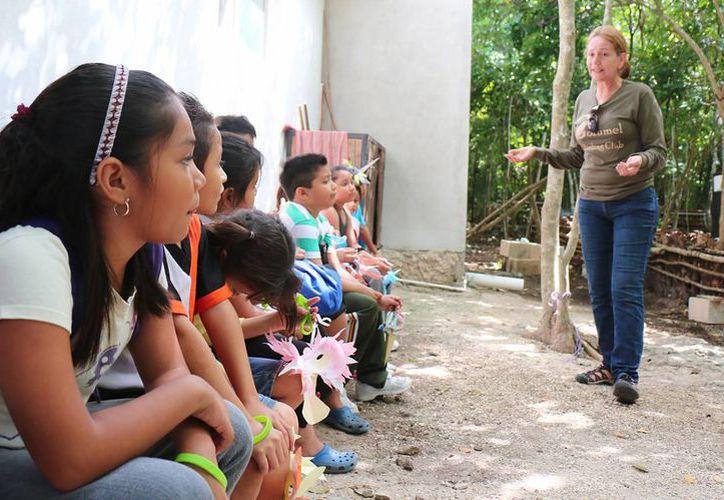 Las actividades se desarrollaron en el Centro de Interpretación Ambiental. (Cortesía/SIPSE)