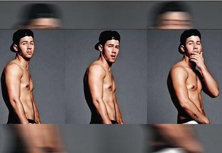 El cantante Nick Jonas realizó varias fotos luciendo sexy. (Yu Tsai/Milenio)