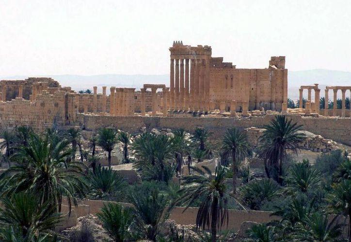 La ciudad de Palmira es conocida por los sirios como 'la novia del desierto'. (AP)