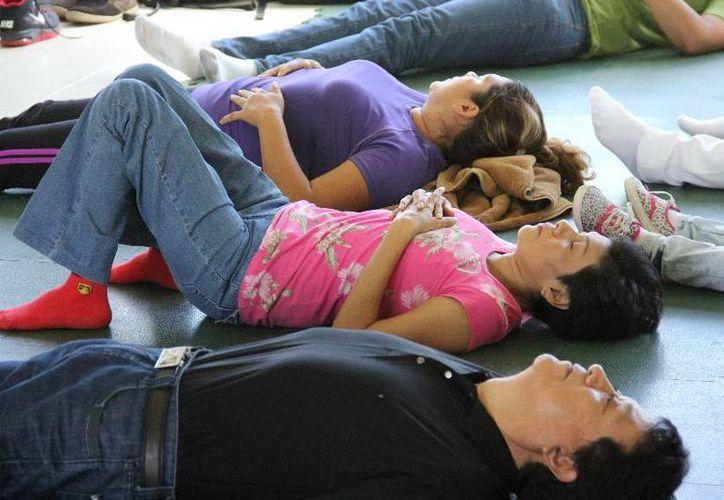 El beneficio de la relajación a nivel psicológico y emocional favorece a encontrar la armonía personal. (Cortesía/Uqroo)