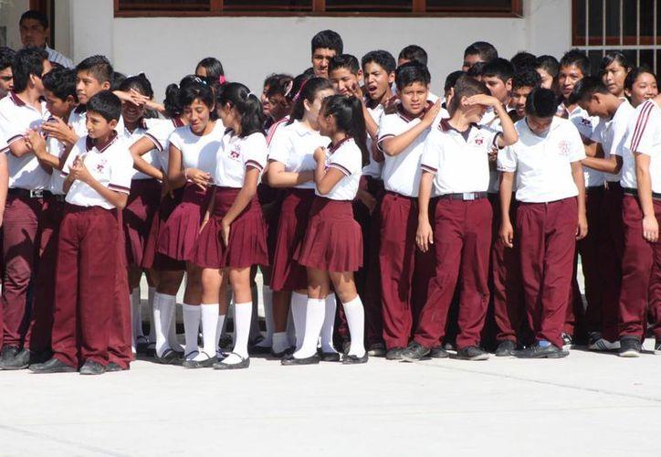 El fraccionamiento Villas del Sol concentra el mayor número de alumnos de nuevo ingreso al nivel de educación básica.  (Adrián Barreto/SIPSE)