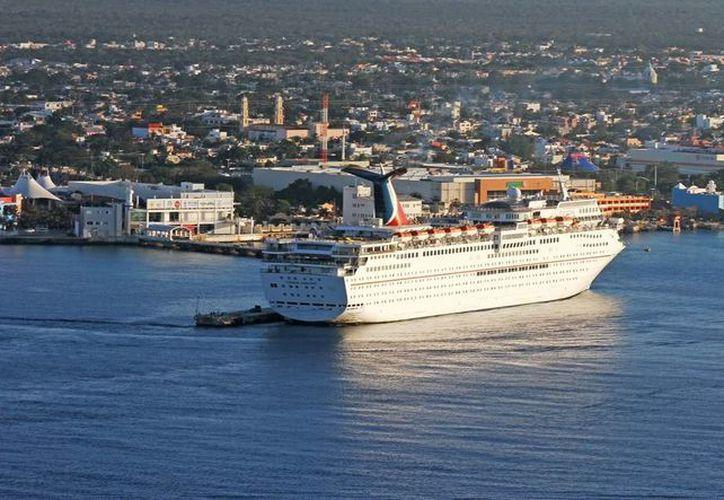 Cozumel se convierte en punta de lanza en el turismo de cruceros. (Cortesía/SIPSE)