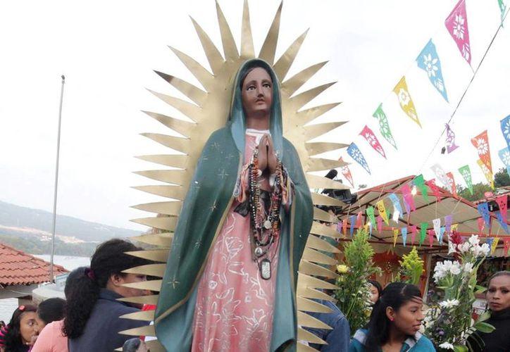En Santa Fe, Nuevo México, se han registrado dos polémicas por imágenes de la Virgen de Guadalupe que han incomodado a los fieles. (Notimex)