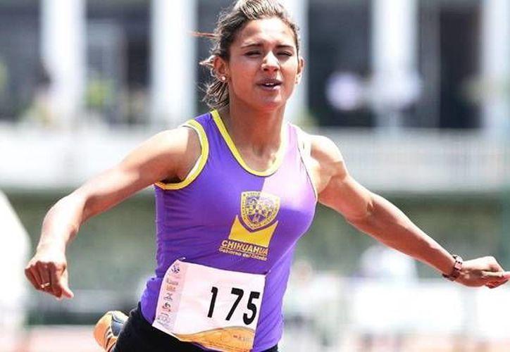 La mexicana Zudikey Rodríguez hizo su prueba en  58 segundos y 12 centésimas. (mediotiempo,com/Archivo)