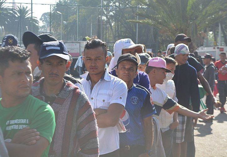 Más de 11 mil migrantes de origen centroamericano esperan en México una respuesta de Estados Unidos para poder ingresar a dicho país. (commons.wikimedia.org)