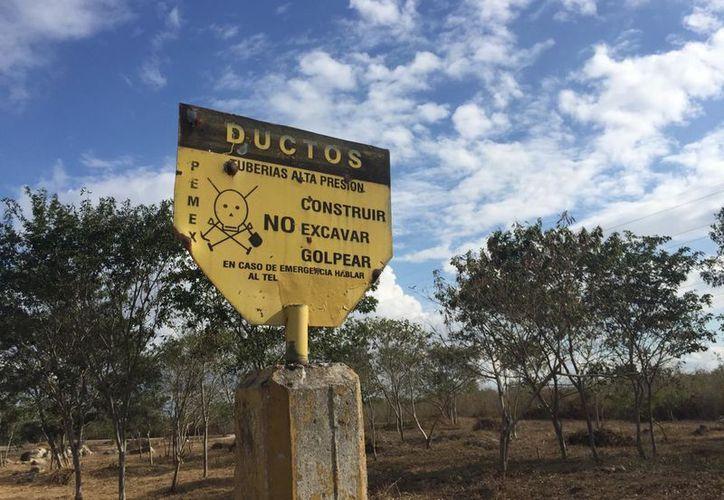 Yucatán ya figura en el mapa de los huachicoleros y hasta el momento existe el registro de tres tomas clandestinas en el territorio. (Christian Coquet/ Novedades Yucatán)