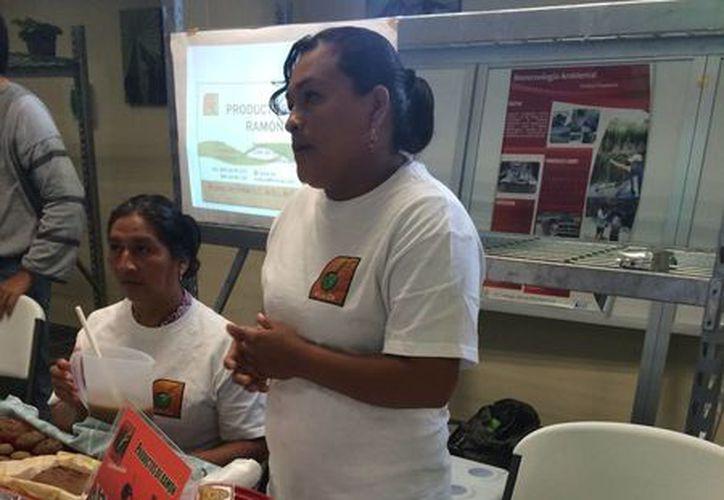 La asociación Mujeres del Ramón retoma sus actividades, haciendo difusión de su producto con el fin de comercializarlo nuevamente. (Harold Alcocer/SIPSE)