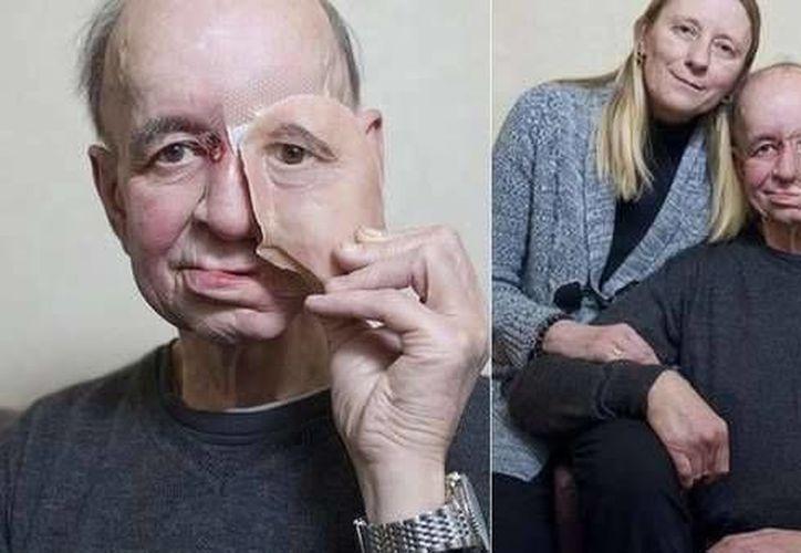 """""""Me quedé sorprendido por la forma en que se ve, no podía creer lo bien que se veía"""" dijo Eric Moger al ver por primera vez la impresión de su rostro. (trendhunter.com)"""