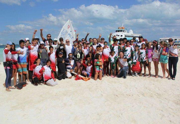 Los deportistas destacaron durante las competencias que se llevaron en Cancún. (Redacción/SIPSE)