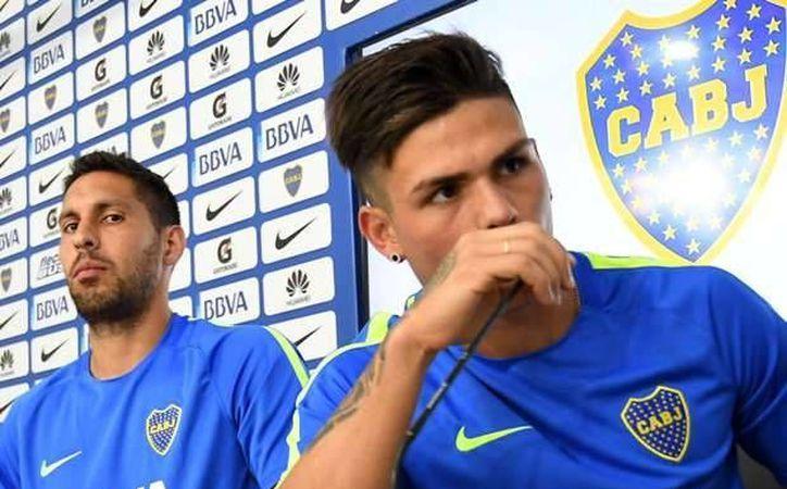 Los dos futbolistas fueron expulsados de los entrenamientos tras protagonizar una pelea por diferencias tácticas.(Foto tomada de Facebook/Boca Juniors)