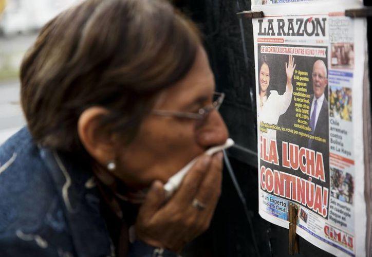 Pedro Pablo Kuczynski suma hasta el momento el 50.12 por ciento de los votos que le darían la Presidencia del Perú. (AP/Archivo)