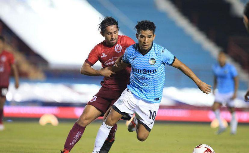 Con la repartición de puntos, Cancún FC llega a 11 unidades y Mineros de Zacatecas a seis. (Foto: Ángel Villegas)