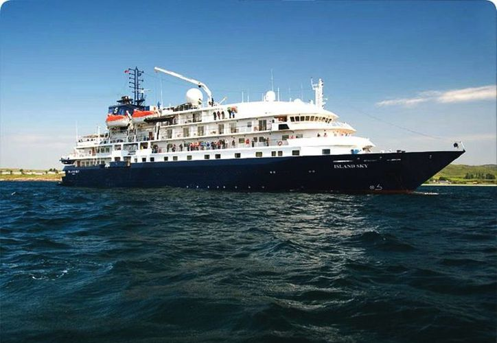 El Island Sky llegará procedente de Cozumel, Q. Roo, como parte del crucero que realiza por Centroamérica y Mar Caribe. Será la primera vez que atraque en Progreso. (salenship.com)