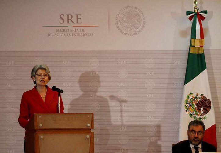 Irina Bokova seguró que México tiene la oportunidad de lograr un desarrollo sostenible. (Notimex)