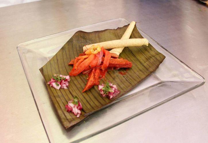 Cochinita preparada con soya, una opción de comida rica y saludable para los diabéticos en Yucatán. (SIPSE)