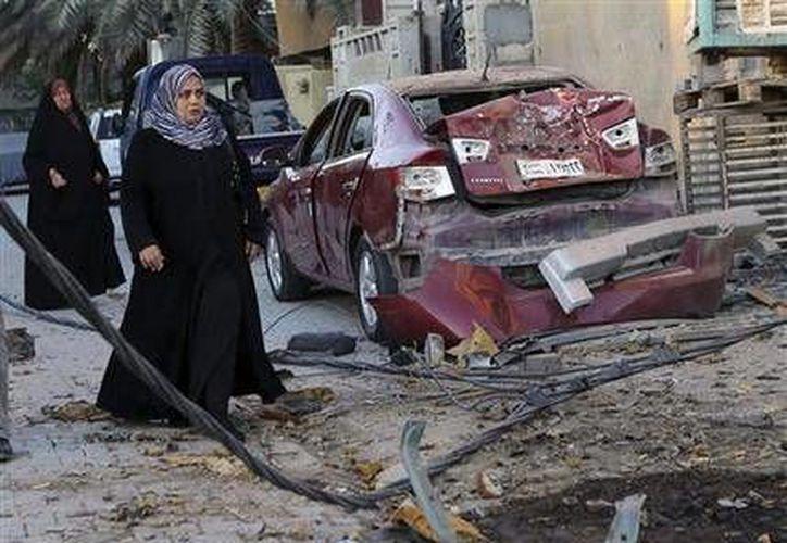 El ataque acaeció durante la noche cerca de un mercado de verduras en Samarra. (Agencias)