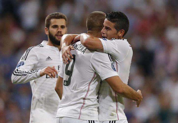 Benzema anotó el quinto gol del encuentro. (Foto: AP)