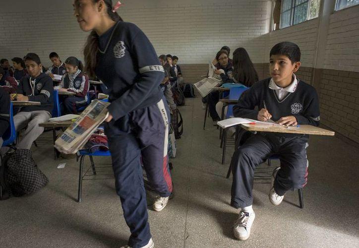 Desde el 3 de diciembre más de 100 escuelas que se ubican en la región Acapulco-Coyuca de Benítez permanecen cerradas. (Archivo/EFE)