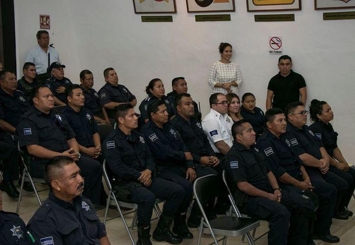 Se capacitaron 696 elementos de la Dirección de Seguridad Pública. (Foto: Redacción)