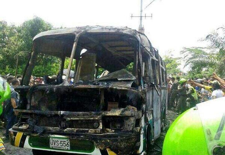 La causa del dramático accidente pudo ser una falla mecánica. (Twitter.com/@juan7148)