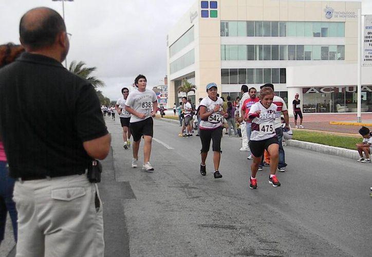 La justa deportiva busca estimular al participante. (Ángel Mazariego/SIPSE)